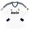 2012-13 Real Madrid Home Shirt Ronaldo #7 L/S XL