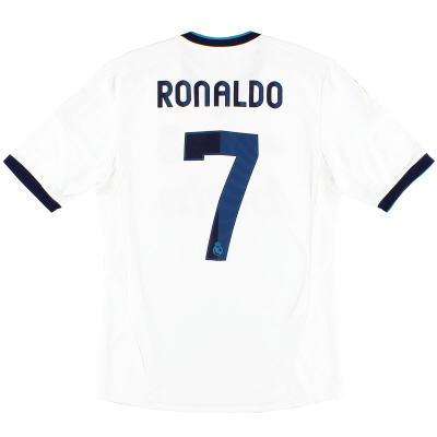 2012-13 Real Madrid Home Shirt Ronaldo #7 S