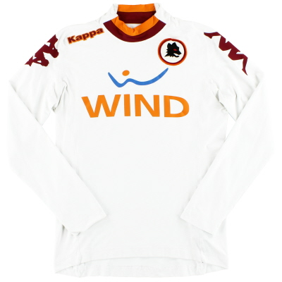 2012-13 Roma Kappa Away Shirt L/S S