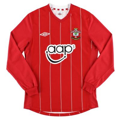 2012-13 Southampton Umbro Home Shirt L/S S
