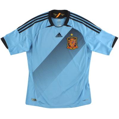 2012-13 Spain adidas Away Shirt *Mint* M