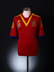 2012-13 Spain Home Shirt *BNIB*