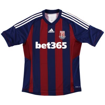 2012-13 Stoke City adidas '150 Years' Away Shirt M