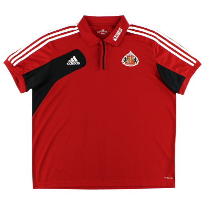 2012-13 Sunderland Polo Shirt XXL