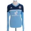 2012-13 SV Elversberg Match Issue Goalkeeper Shirt Klas #21 L/S L