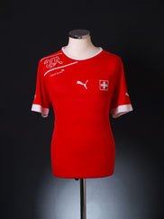 2012-13 Switzerland Home Shirt L
