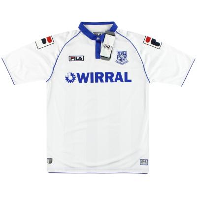 2012-13 Tranmere Rovers Fila Home Shirt *w/tags* L