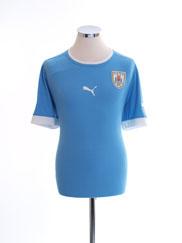 2012-13 Uruguay Home Shirt L