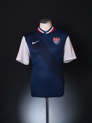 2012-13 USA Away Shirt M