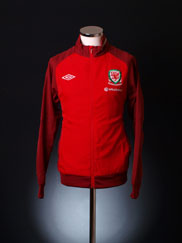 2012-13 Wales Umbro Woven Training Jacket *BNIB* L
