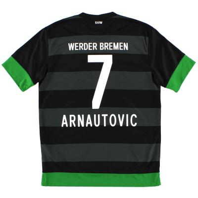 2012-13 Werder Bremen Away Shirt Arnautovic #7 M