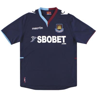 2012-13 West Ham Macron Away Shirt S