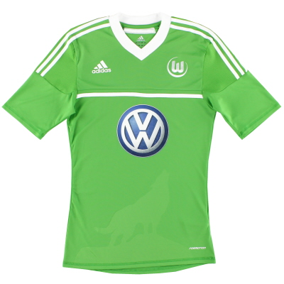 2012-13 Wolfsburg Formotion Home Shirt #19 S