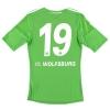 2012-13 Wolfsburg Formotion Home Shirt #19 S