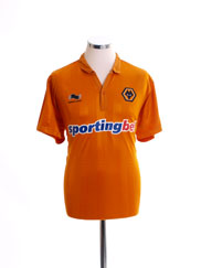 2012-13 Wolves Home Shirt L