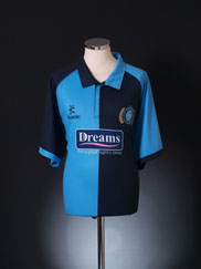 2012-13 Wycombe Wanderers Home Shirt '125 Years' *Mint* XXXL