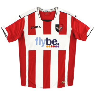 2012-14 Exeter City Joma Home Shirt M