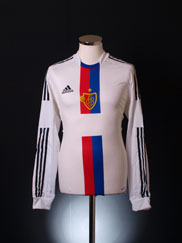 2012-14 FC Basel Player Issue Away Shirt L/S *BNIB*