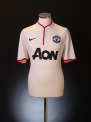 2012-14 Manchester United Away Shirt XS.Boys
