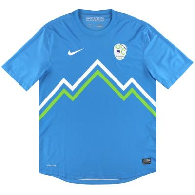 2012-14 Slovenia Nike Away Shirt L
