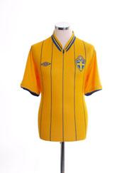 2012-14 Sweden Home Shirt L