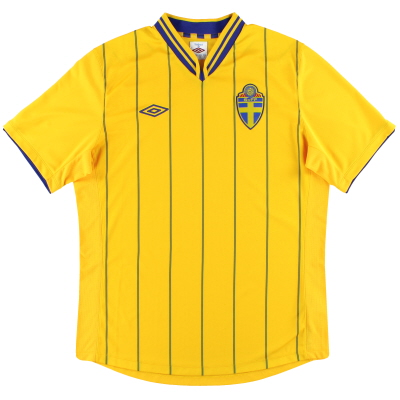 2012-14 Sweden Home Shirt
