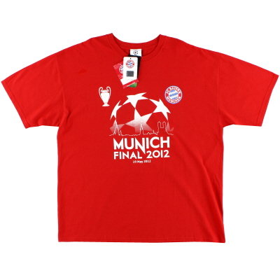 2012 Bayern Munich 'Munich 2012' T-Shirt *w/tags* XL