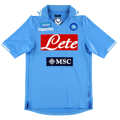 2012 Napoli 'TIM Cup Final' Home Shirt XS