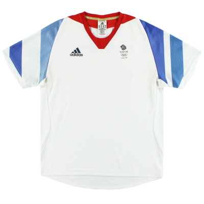 2012 Team GB adidas Olympic Player Issue Training Shirt M
