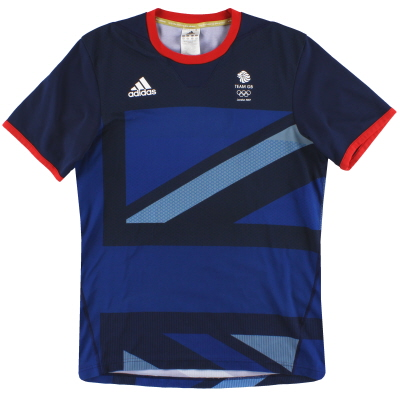 2012 Team GB adidas Training Shirt S