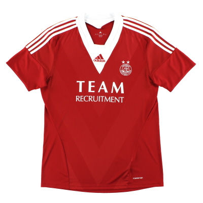 2013-14 Aberdeen adidas 'Formotion' Home Shirt *Mint* XL