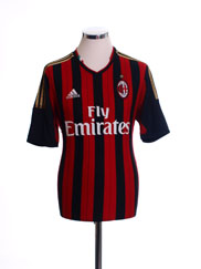 2013-14 AC Milan Home Shirt *Mint* XXL