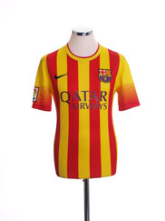 2013-14 Barcelona Away Shirt XL