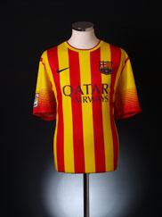 2013-14 Barcelona Away Shirt *BNWT*