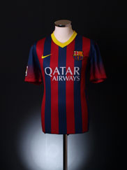 2013-14 Barcelona Home Shirt *BNWT* XL