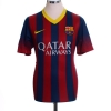 2013-14 Barcelona Home Shirt Messi #10 M