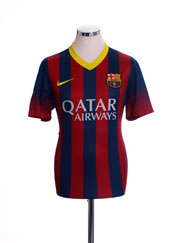 2013-14 Barcelona Home Shirt XL