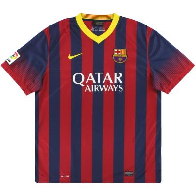 2013-14 Barcelona Nike Home Shirt XL