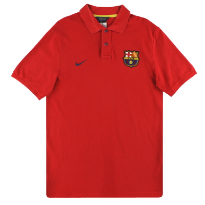 2013-14 Barcelona Nike Polo Shirt *Mint* M