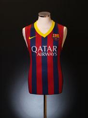 2013-14 Barcelona Nike Sleeveless Home Shirt *BNWT*
