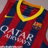 2013-14 Barcelona Nike Sleeveless Home Shirt *BNWT*