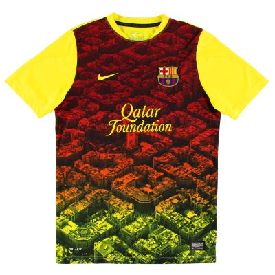 2013-14 Barcelona Training Shirt M