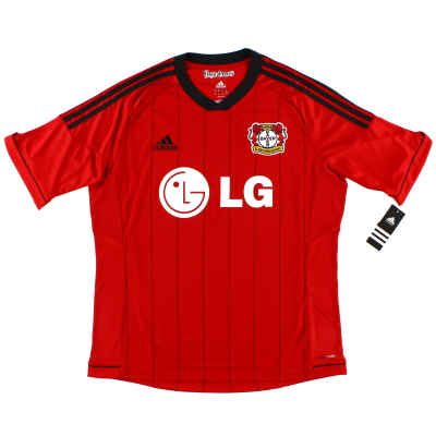 2013-14 Bayer Leverkusen adidas Away Shirt *BNIB* XL