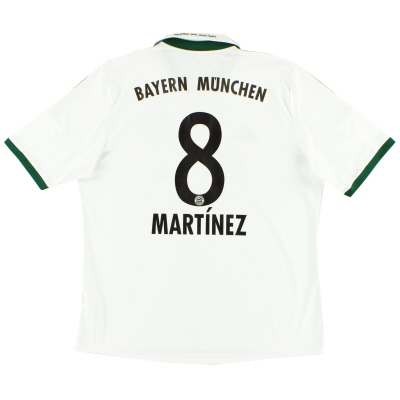 2013-14 Bayern Munich Away Shirt Martinez #8 XL