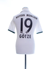 2013-14 Bayern Munich Away Shirt Gotze #19 Y