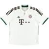 2013-14 Bayern Munich 'Formotion' Away Shirt Dante #4 L