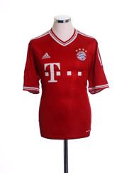 2013-14 Bayern Munich Home Shirt L