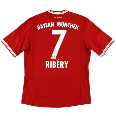 2013-14 Bayern Munich Home Shirt Ribery #7 L