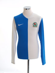 2013-14 Blackburn Home Shirt L/S S