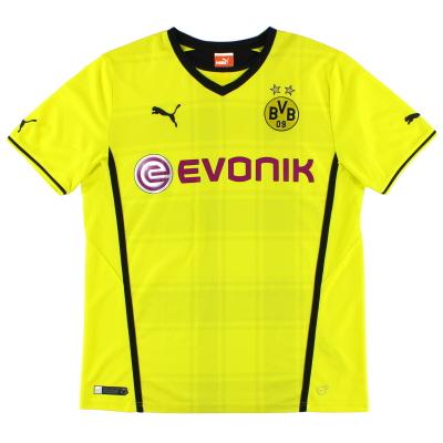 2013-14 Borussia Dortmund Home Shirt M
